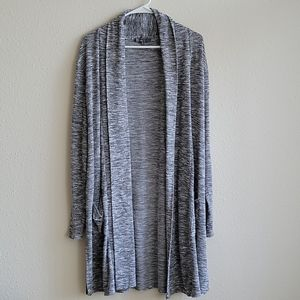 89th & Madison Open Front Duster Cardigan Size XL